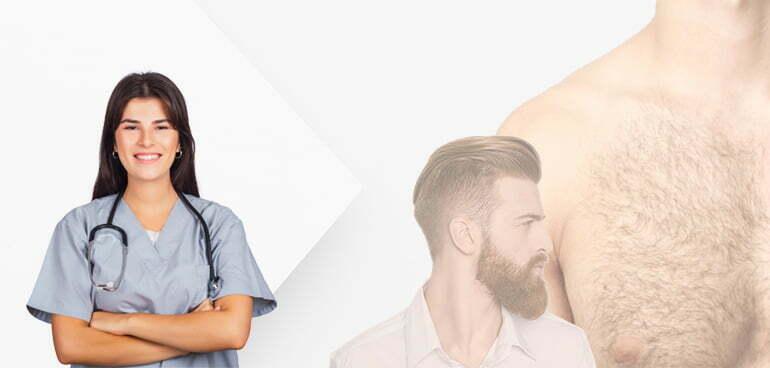 Beard & Body Hair Extraction